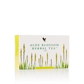 شاى فوريفر ليفينج الكويت شاى اعشاب و تخسيس طبيعى forever living kuwait Aloe Blossom Tea