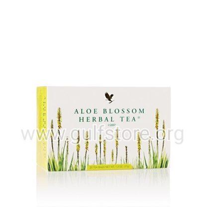 aloe blossom herbal tea forever living products kuwait شاى اعشاب فوريفر للتنحيف منتجات فوريفر ليفينغ الكويت